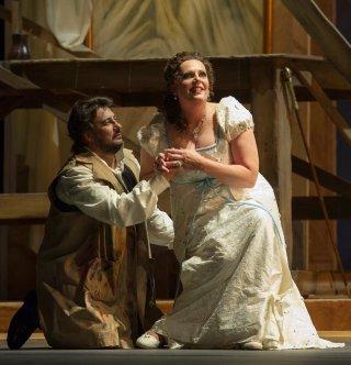 Marcelo Álvarez i Eva Maria Westbroek a Tosca al Teatro Colón Fotografia Máximo Parpagnoli: