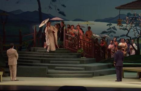 Madama Butterfly a la Staatsoper de Viena, producció de Josef Gielen (1957)