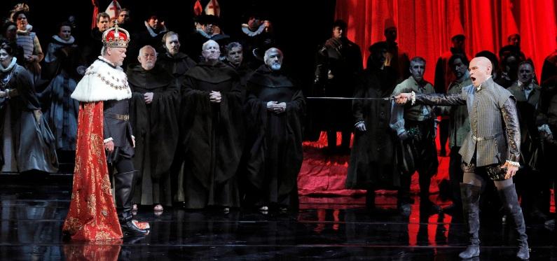 René Pape i Michael Fabiano al Don Carlo de San Francisco 2016 © Cory Weaver/San Francisco Opera