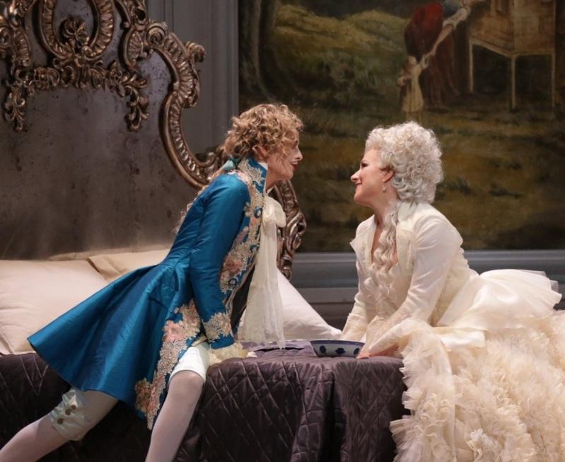 """""""Le nozze di Figaro"""" Crebassa and Damrau Credit: Brescia/Amisano"""