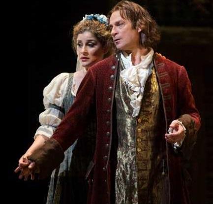 Serena Malfi i Simon Keenlyside Don Giovanni MET 2016 Fotografia Marty Sohl/The Metropolitan Opera