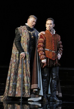 René Pape i Marius Kwuecin al Don Carlo de San Francisco © Cory Weaver/San Francisco Opera