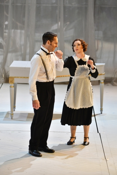 Kyle Ketelsen (Figaro) i Elena Copons (Susanna) Fotografia ® A Bofill gentilesa del Departament de premsa de GT Liceu