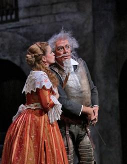 Ferrucio Furlanetto (Don Quichotte) Ken Howard/San Diego Opera