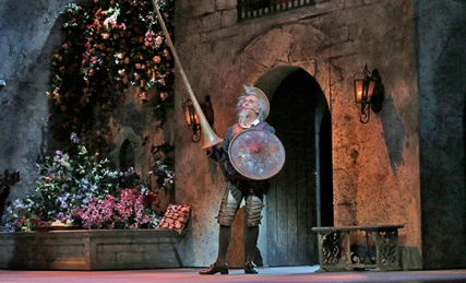 Ferrucio Furlanetto (Don Quichotte) Ken Howard/San Diego Opera