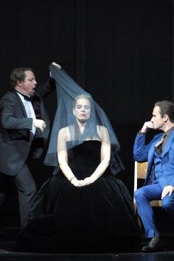 La favorite a Munic Matthew Polenzani, Elīna Garanča, Mariusz Kwiecień © Wilfried Hösl