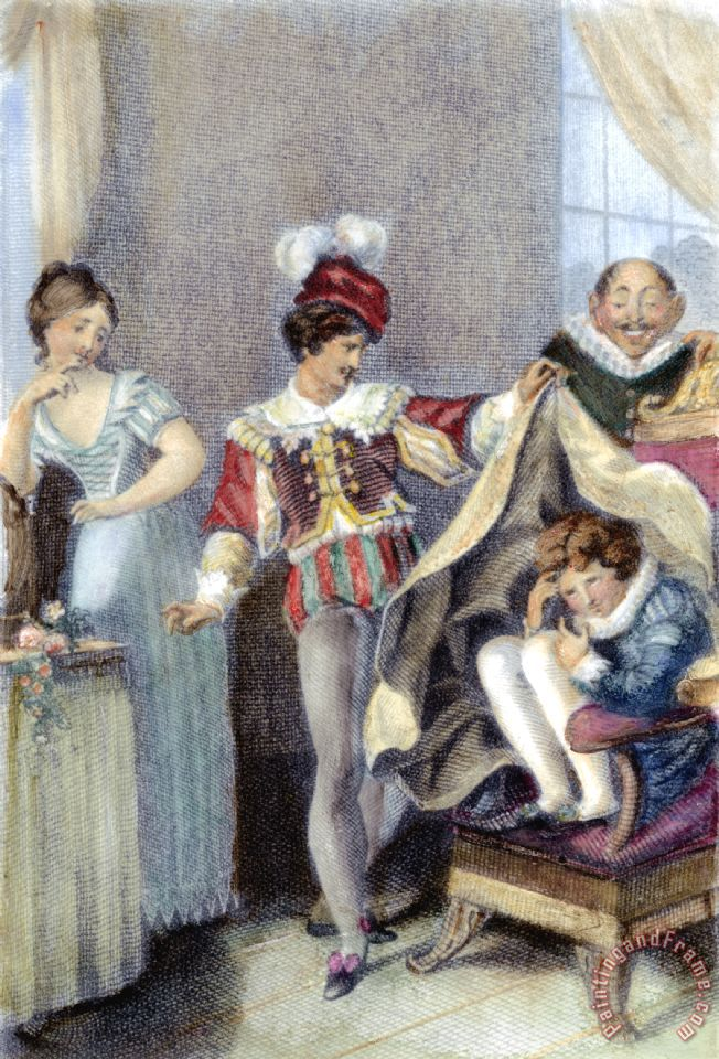 Mozart: Marriage Of Figaro Painting; Mozart: Marriage Of Figaro Art Print for sale