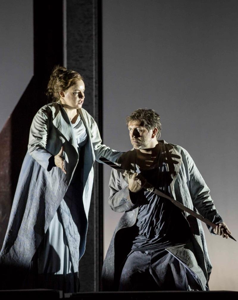 Tristan und Isolde a l'ôpera de Roma: Rachel Nicholls (Isolde) i Andreas Schager (Tristan( Foto gentilesa del Teatro dell'opera Roma