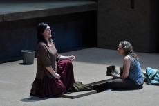 Adrianne Pieczonka i Evelyn Herlitzius Elektra Gran Teatre del Liceu Foto A.Bofill GTL