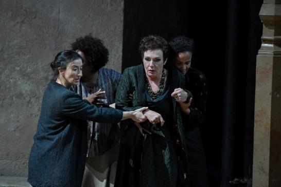 Waltraud Meier Klytämnestra a Elektra Gran Teatre del Liceu Foto A.Bofill GTL