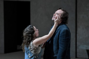 Evelyz Herlitzius (Elektra) i Alan Held (Orest) Foto A.Bofill GTL