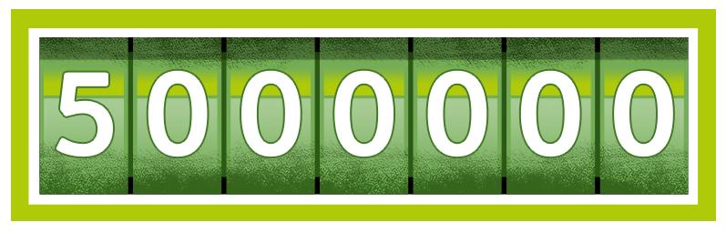 5000000