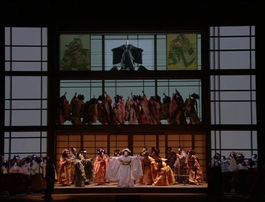 /Madama Butterfly acte 1wer producció de Alvis H. Scala de Mila Hermanis Scala de Milà 07/12/2016