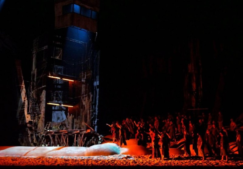 Der Fliegende Holländer, producció d'Alex Ollé Teatro Real. Fotografia Javier del Real/TR