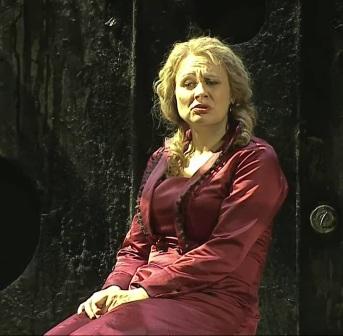 Anja Kampe com a Katerina Lwowna Ismailowa,