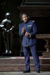 John Osborn (Otello) Fotografia gentilesa del compte de Twitter del Teatro San Carlo