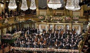 Wiener Philharmoniker Fotografia AFP PHOTO / Dieter Nagl