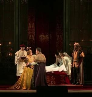 Lohengrin Staatsoper de Dresden 2016 Producció de Christine Mielitz
