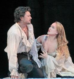 Vittorio Grigolo and Diana Damrau in 'Roméo et Juliette' Ken Howard / Metropolitan Opera