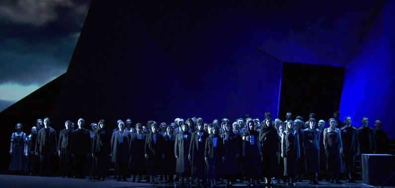 Samson et Dalila, acte 1er Producció de Yannis Kokkos