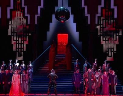 Samson et Dalila, acte 3er Producció de Yannis Kokkos