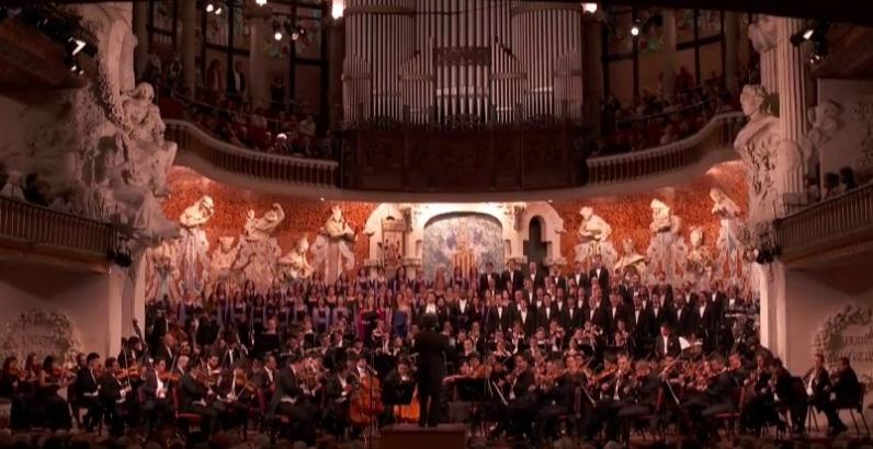 Orquestra Simón Bolívar, Orfeó Català, Cor de Cambra del Palau e la Música, Gustavo Dudamel
