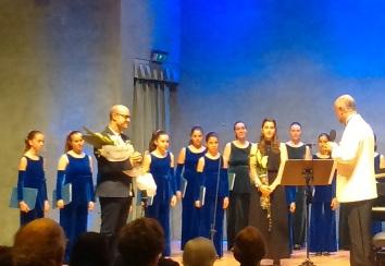 Cor Vivaldi, Josu Elberdin, Cristina garcía-Gratacós i Òscar Boada. Auditori Axa Diagonal de març de