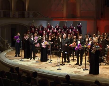 Oprichnik a la sala Txaikovski de Moscou, 28 de febrer d e2017