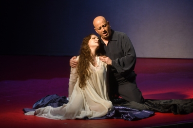 María JOsé Moreno (Gilda) i ANtoniono Siragusa (Duca) a Rigoletto, Liceu 2017 Fotografia ®A Bofill