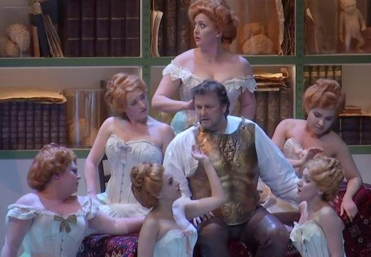Christopher Ventris (Parsifal) Viena 2017 Producció Alvis Hermanis
