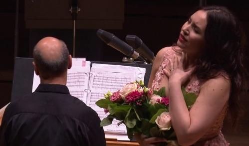 Sonja Yoncheva a la sala Philharmonie de París, 18 d'abril de 2017