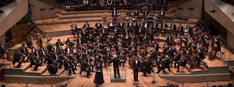 Berliner Philharmoniker, Rinat Shaham, Simon Rattle, Gábor Bretz, El castell de Barbablava Berlín 18 de març de 2017