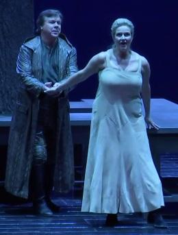 Robert Dean Smit (Siegmund) i Camilla Nylund (Sieglinde)Viena 2017