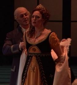 Marco Vratogna i Martina Serafin a Tosca. Viena 2017