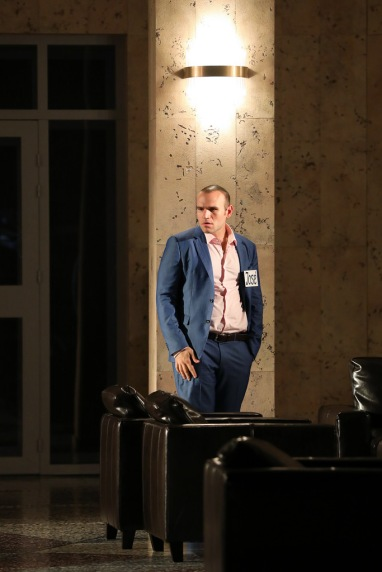 Michael Fabio (Don José) a Carmen, Producció de Dmitri Tcherniakov Fotografia © Patrick Berger / artcompress