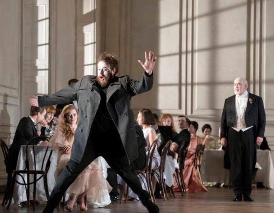 Hamlet (Allan Clayton) Fotografia de Richard Hubert Smith gentilesa del Festival de Glyndebourne