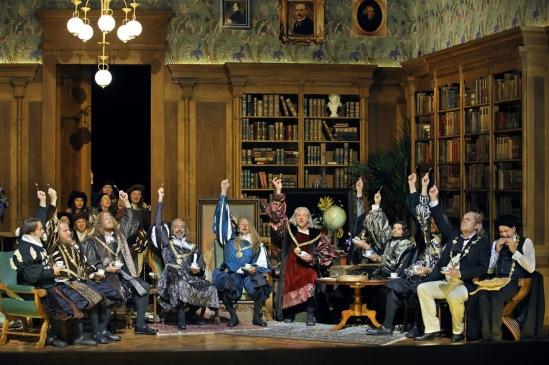 Die Meistersinger von Nürnberg Producció de Barrie Kosky Fotografia de Enrico Nawrath gentilesa del web del Bayreuther Festspiele