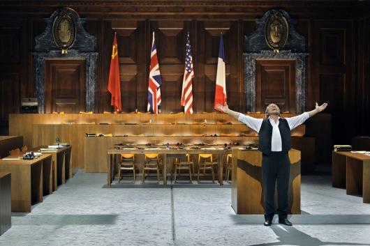 Michael Volle (Sachs) Die Meistersinger von Nürnberg Producció de Barrie Kosky Fotografia de Enrico Nawrath gentilesa del web del Bayreuther Festspiele