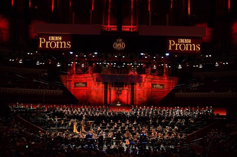 Royal Albert Hall de Londres en la Khovànxtxina del 6 d'agost de 2017. Fotografia de © BBC | Chris Christodoulou