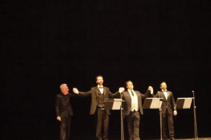 Parry, Irvin, Spyers, Romanovsky al Teatro Rossini de Pesaro el 17 d'agost de 2017 Foto IFL