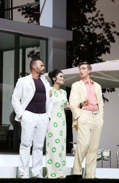 Gianluca Marghieri, Aya Wakizono i Maxim Mironov a La pietra del paragones ROF 2017