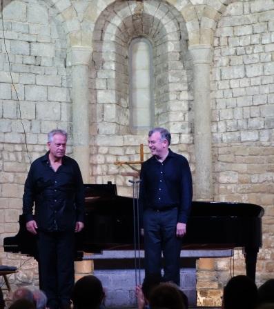 Cristoph Prégardien i Malcom Martineau Schubertíada de Vilabertran 26/8/2017 Foto IFL