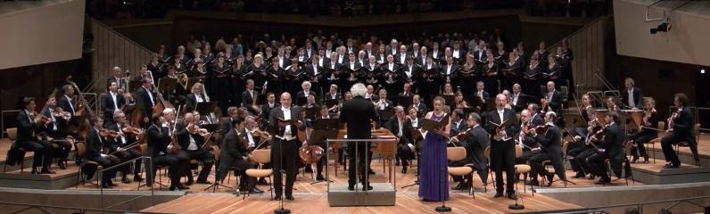 Die Schöpfung, Berliner Philharmonie, 25 d'agost de 2017