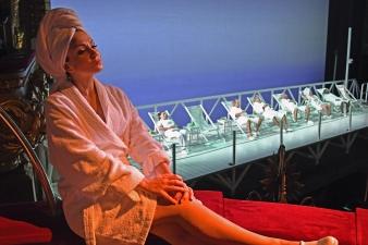 Irina Lungu (Corinna) foto ®A Bofill. gentilesa del Departament de Premsa del Gran Teatre del Liceu