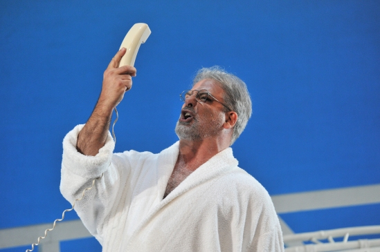 Pietro Spagnoli, Il viaggio a Reims, producció d'Emilio Sagi foto ®A Bofill. gentilesa del Departament de Premsa del Gran Teatre del Liceu