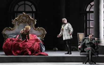 Tamerlano, producció de Davide Livermore Scala 2017 Fotografia Marco Brescia & Rudy Amisano