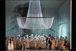 Escena final de Un ballo in maschera, producció de Vincent Boussard. GT Liceu Fotografia ®A Bofill