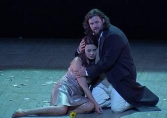 Olga Peretyatko (Violetta) i Jean-François Borras (Alfredo) Viena 2017