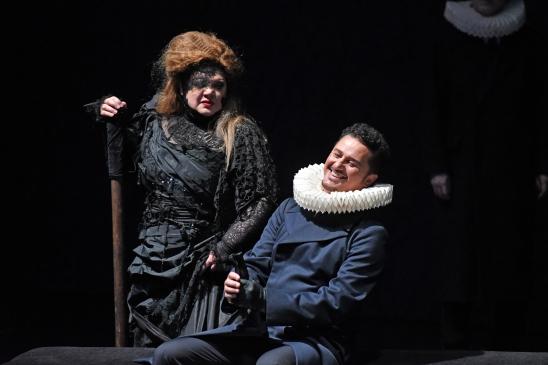 Dolora Zajick (Ultica) i Piotr Beczala (Riccardo) Fotografia ®A Bofill