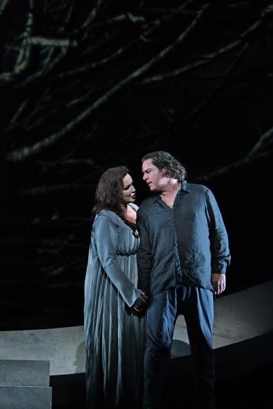 Iréne Theorin (Isolde) i Stefan Vinke (Isolde) Fotografia ®A Bofill